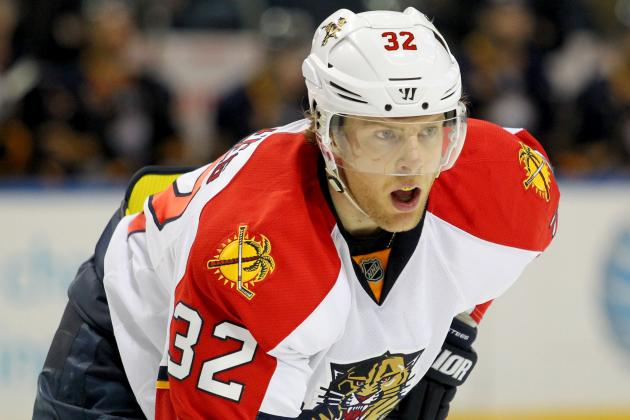 Florida Panthers Right Wing Kris Versteeg Leaves Game Against Tampa Bay