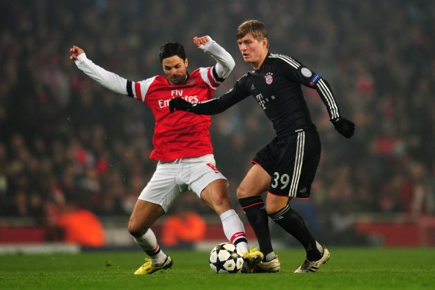 Bayern Munich vs. Arsenal: Live Stream, Start Time, TV Schedule and More