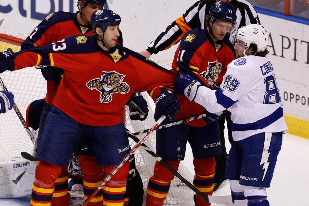 Stamkos' 20th Goal Lifts Lightning over Panthers