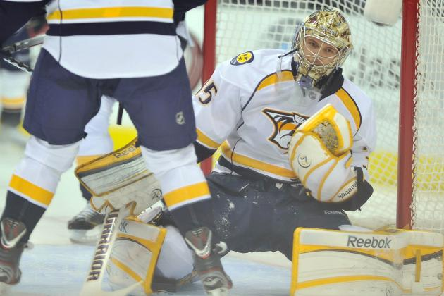 Predators Shut out Stars 4-0