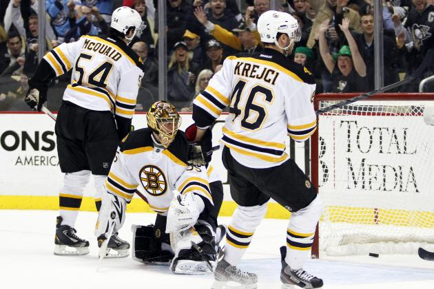 Boston Bruins Squander More Than a 2-0 Lead in Loss to Pittsburgh Penguins