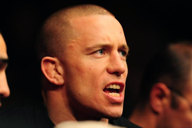 Georges St-Pierre: Nick Diaz's Trash Talk Same as Penn, Koscheck and All Others