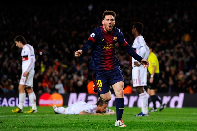 Lionel Messi Leads Barcelona to Win over AC Milan, Proves He Is One of a Kind