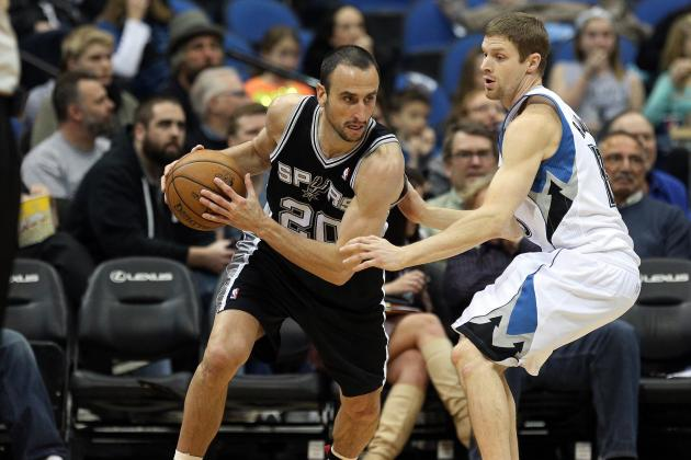 Rubio Gets Triple-Double, Spurs Get Re-Routed