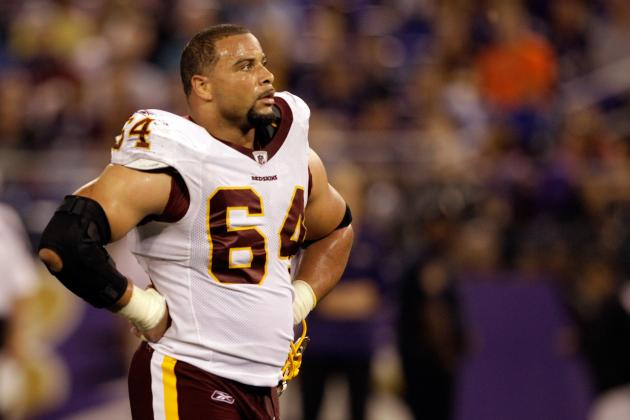 Kedric Golston Signs Three-Year Deal to Remain with Redskins