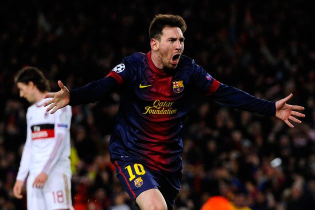Barcelona vs. AC Milan: Lionel Messi's Big Night Shows How to Best Use Striker
