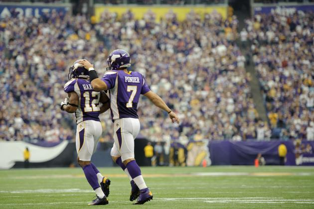 Christian Ponder Pays Percy Harvin's Opinion No Mind