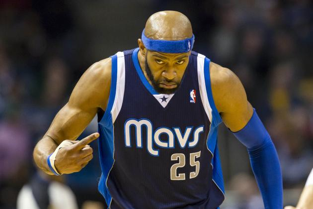 Vince Carter Gets Dirk Nowitzki's Vote for Sixth Man of the Year