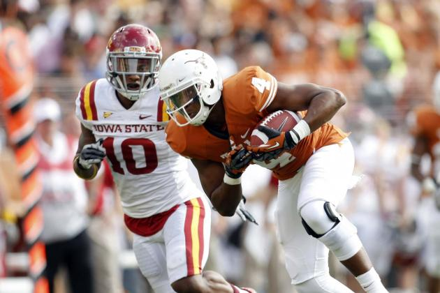 Texas WR Cayleb Jones Fractures Tennis Player's Jaw in Fight over Girl
