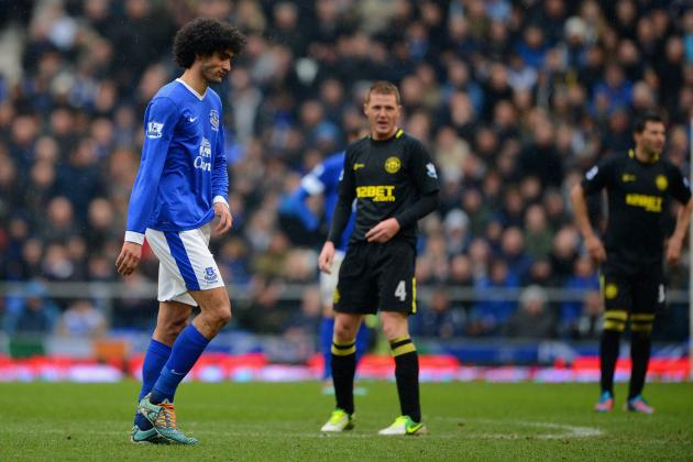 Everton FC: Why Marouane Fellaini's Probable Summer Exit May Prove a Blessing