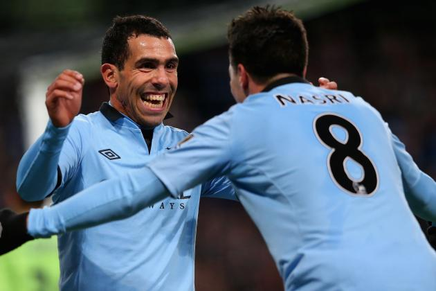 Carlos Tevez and Samir Nasri May Leave as Manchester City Plan Clear-out