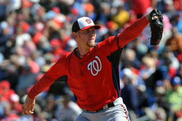 Stephen Strasburg Will Start Opening Day for Nationals