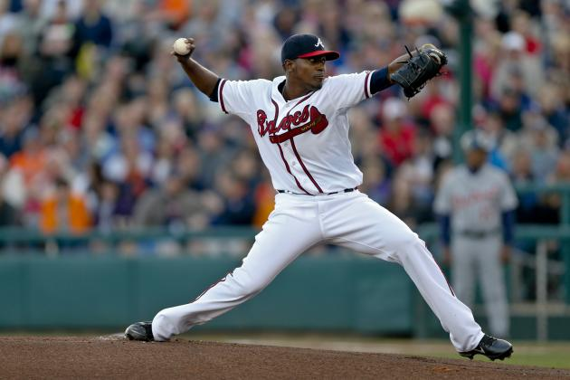 Braves' Teheran Keeps Rolling with 5 Hitless Innings