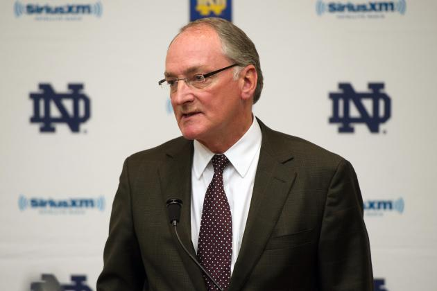 Notre Dame Football: Swarbrick Sees Stability in New Home