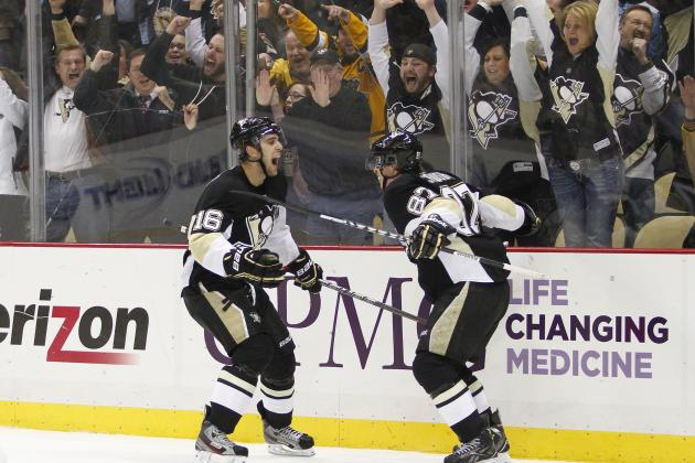 Penguins Rally to Defeat Bruins 3-2