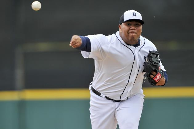 Jim Leyland Says Bruce Rondon Doesn't Have to Be Closer to Make Tigers