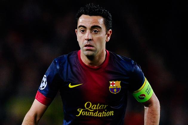 Xavi out of Rayo Match