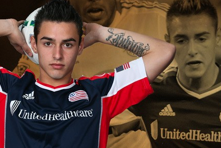 Revolution Signs Diego Fagundez to Multi-Year Extension