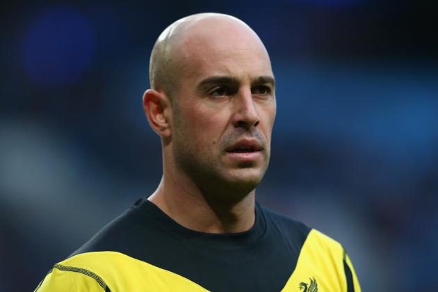 Premier League: Pepe Reina in Line to Face Southampton This Weekend