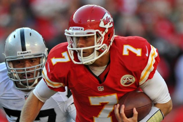 Chiefs Trying to Trade Matt Cassel, May Cut Him Today If They Can't