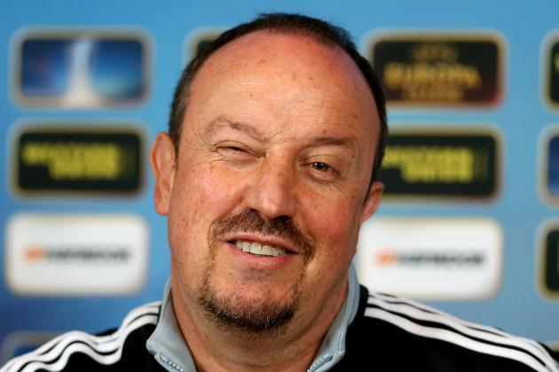 Benitez Sick of Chelsea Blame Game in Preparation for Europa League Showdown