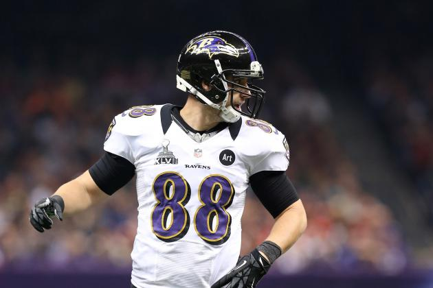 Dennis Pitta Gets Second-Round Tender from Baltimore Ravens