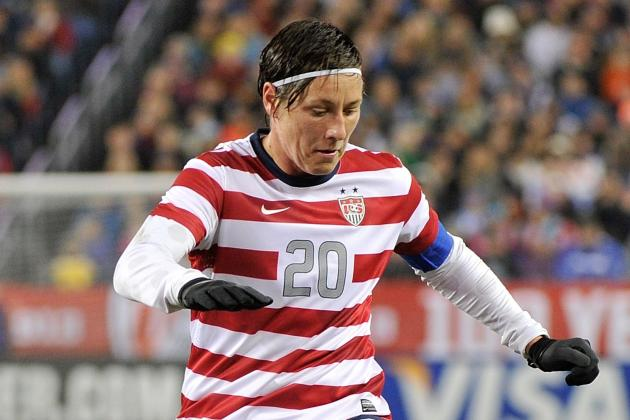Wambach Starts on Bench for 1st Time in 2 Years