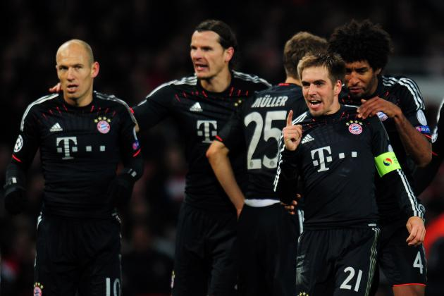 Bayern Munich vs. Arsenal: Ribery's Absence Nothing to Worry About for Bayern