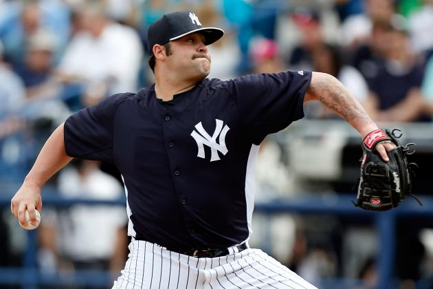 Report: Texas Rangers 'Keeping Tabs' on Yankees RHP Joba Chamberlain