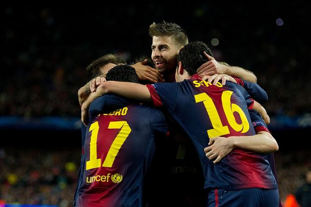 Barcelona vs. AC Milan: Barca Prove They Are Team to Beat in Champions League