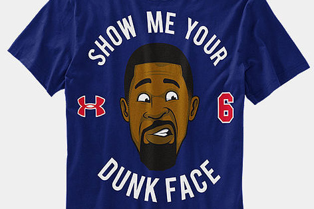 DeAndre Jordan's Post-Brandon Knight Dunk Face Is a T-Shirt Now