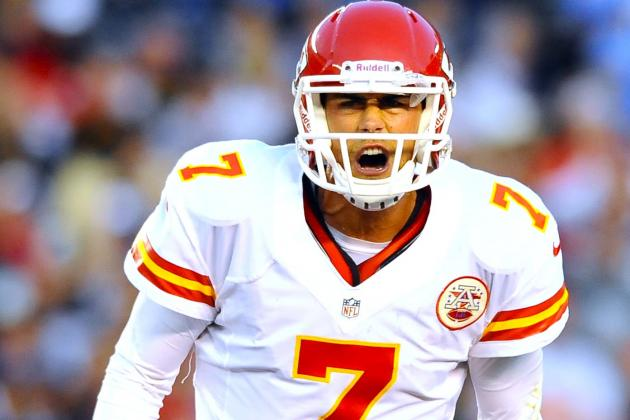 Kansas City Chiefs Reportedly Trying to Trade QB Matt Cassel