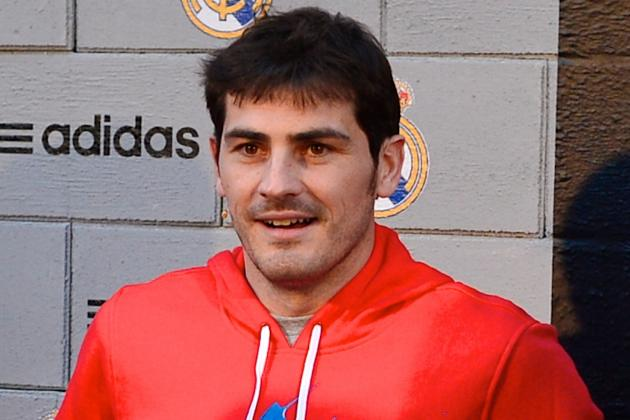 Casillas Steps Up Recovery