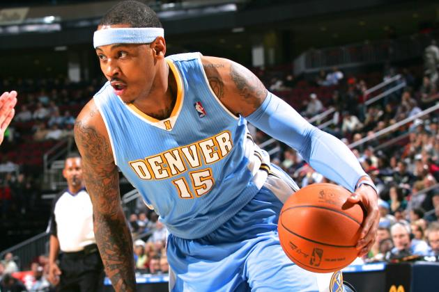 Timeline of Carmelo Anthony's Journey from the Denver Nuggets to NY Knicks
