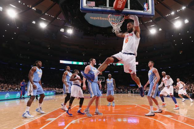 Knicks vs. Nuggets: Frontcourt Key to New York-Denver Matchup
