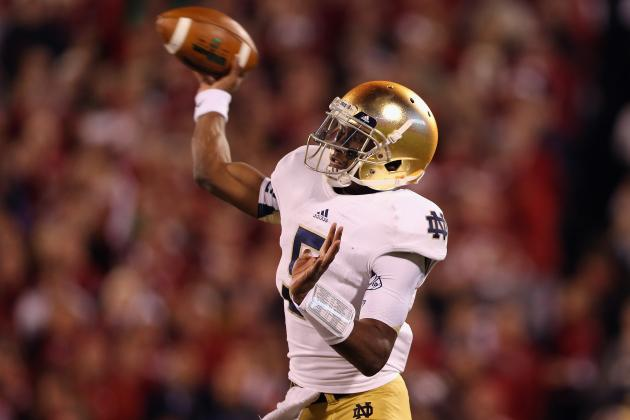 Notre Dame Football: Gunner Kiel's Transfer Puts More Pressure on Everett Golson