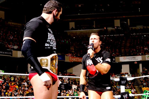WWE WrestleMania 29: The Miz vs. Wade Barrett Would Be a Lose-Lose Situation