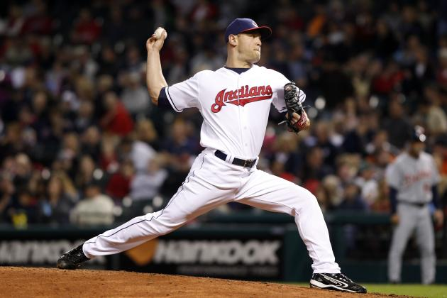 Indians Reliever Frank Herrmann out for the Season After Tommy John Surgery