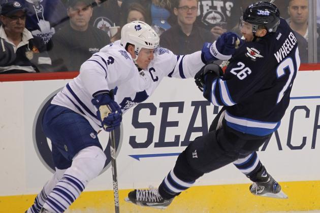 Leafs Grounded In Winnipeg