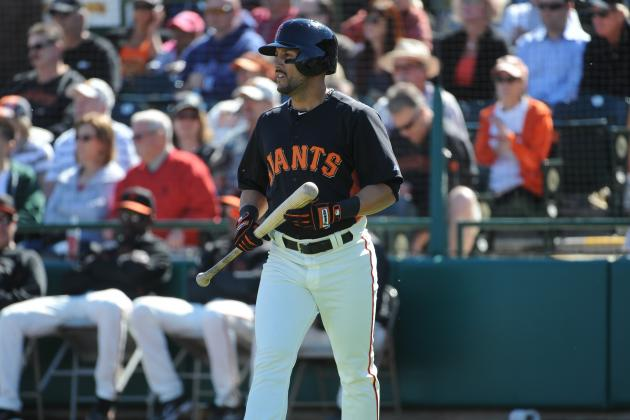 Giants' Torres Shows off His Man Strength