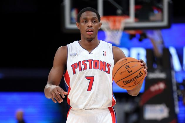 Brandon Knight out vs. Warriors; Rodney Stuckey Gets Start