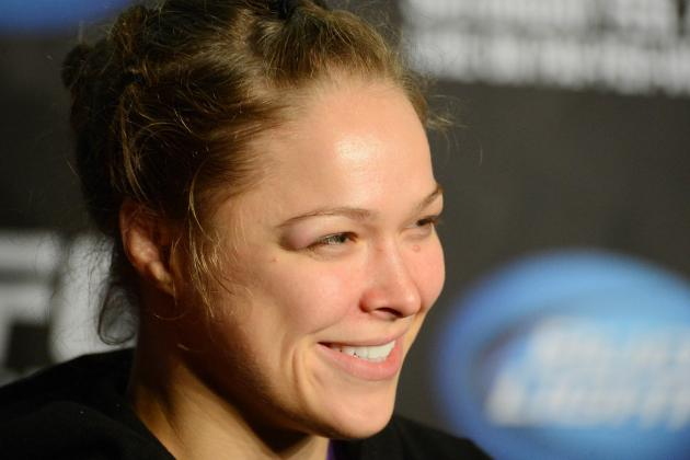 UFC 158: Ronda Rousey 'Used to Be a Big GSP Fan' but Predicts a Nick Diaz Win