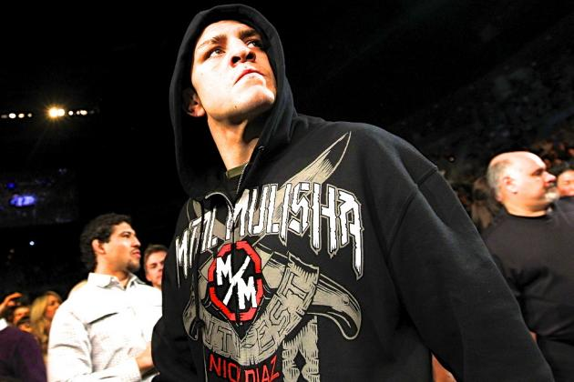 Nick Diaz Chased Georges St-Pierre Around Hotel in 2011, Led to Fight at UFC 158
