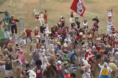Oklahoma Football Releases a Harlem Shake Video