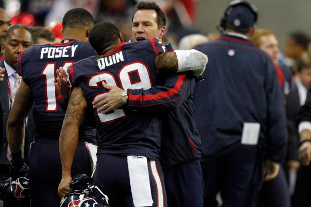 Texans Go Backwards to Move Forward with Losses of Casey, Quin