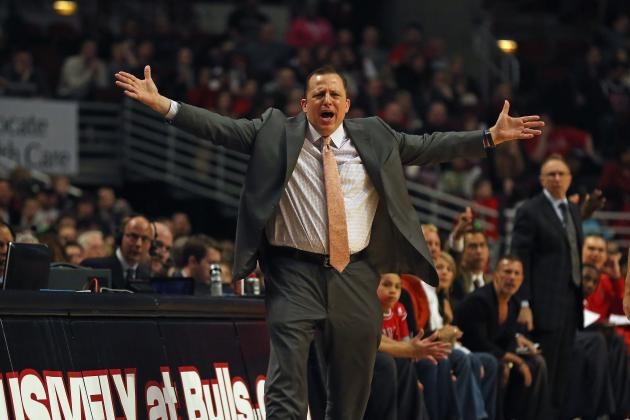 Buying or Selling Tom Thibodeau as NBA Coach of the Year