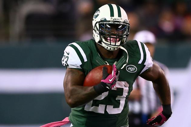 Former Jets RB Shonn Greene Agrees to Terms with Titans