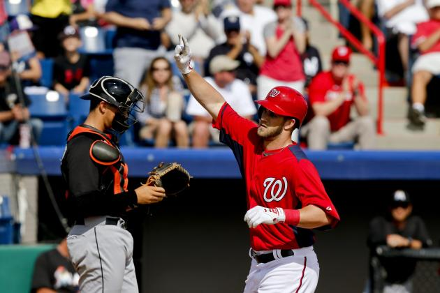 Harper Still Streaking in Spring (Nats Beat Mets 8-5)