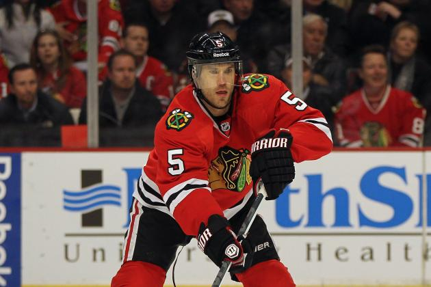 Chicago Blackhawks: What Becomes of Steve Montador and Rostislav Olesz?