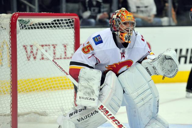 Ex-Red Wings Goalie Joey MacDonald Happy for Opportunity with Flames
